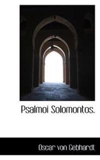 Psalmoi Solomontos.