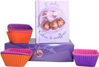 Söta & matiga muffins - presentbox med silikonformar