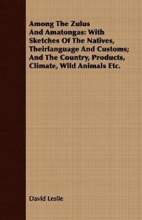 Among the Zulus and Amatongas: With Sketches of the Natives, Theirlanguage and Customs; And the Country, Products, Climate, Wild Animals Etc.
