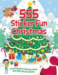 555 Sticker Fun Christmas