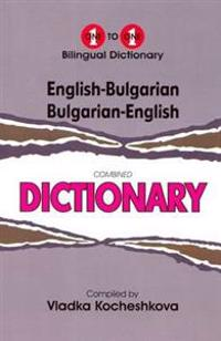 English-bulgarian & bulgarian-english one-to-one dictionary