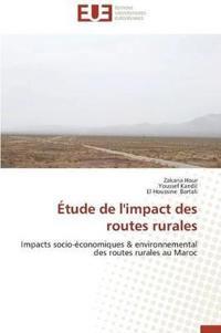 �tude de l'Impact Des Routes Rurales