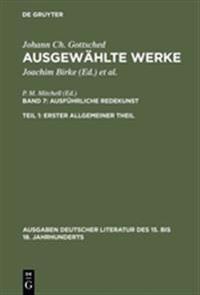 Ausgew hlte Werke, Bd 6/Tl 1, Erster Allgemeiner Theil