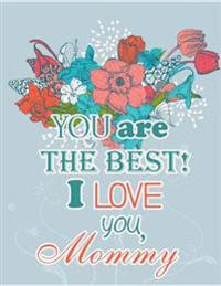 I Love You Mommy: Giant Card/Notebook