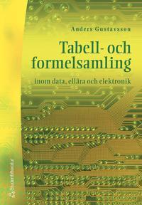 Tabell- och formelsamling inom data, ellära och elektronik