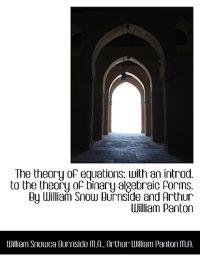 The Theory of Equations