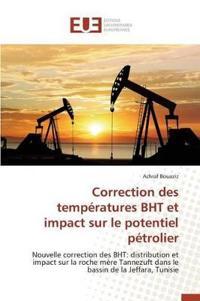 Correction Des Temp�ratures Bht Et Impact Sur Le Potentiel P�trolier