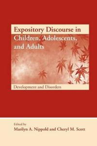 Expository Discourse in Children, Adolescents, and Adults