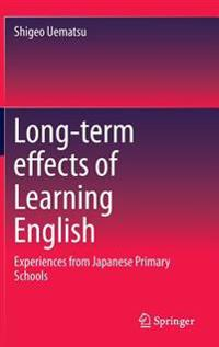 Long-term effects of Learning English