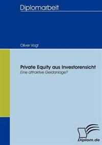 Private Equity Aus Investorensicht