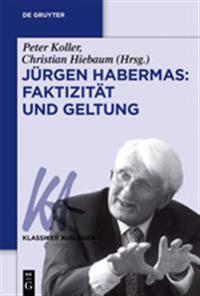 Jurgen Habermas: Faktizitat Und Geltung