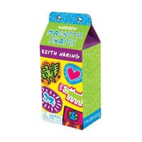 Keith Haring Wooden Magnetic Shapes