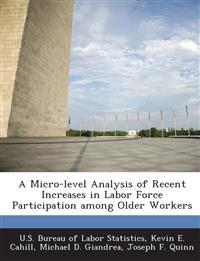 A Micro-Level Analysis of Recent Increases in Labor Force Participation Among Older Workers