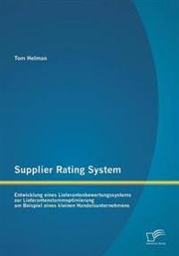 Supplier Rating System
