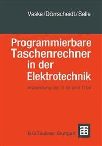 Programmierbare Taschenrechner in Der Elektrotechnik