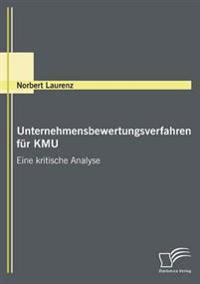 Unternehmensbewertungsverfahren Für Kmu