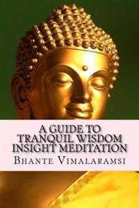A Guide to Tranquil Wisdom Insight Meditation (T.W.I.M.): Attaining Nibbana from the Earliest Buddhist Teachings with 'Mindfulness' of Lovingkindness'