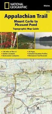 Appalachian Trail, Mount Carlo to Pleasant Pond, Maine