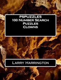 Pspuzzles 100 Number Search Puzzles Clowns