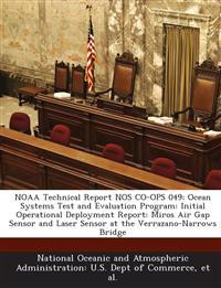 Noaa Technical Report Nos Co-Ops 049