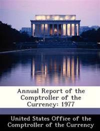 Annual Report of the Comptroller of the Currency