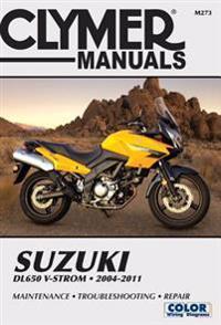 Clymer Manuals Suzuki DL650 V-STROM 2004-2011