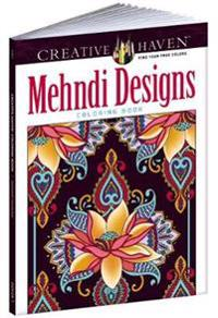 Mehndi Designs Adult Coloring Book