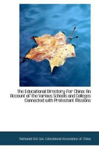 The Educational Directory for China