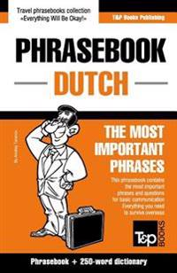 English-Dutch Phrasebook and 250-Word Mini Dictionary
