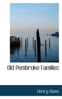 Old Pembroke Families