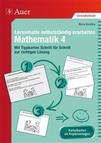 Lerninhalte selbstständig erarbeiten Mathematik 4