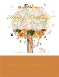 Happy Birthday!: Celebration & Guest Book