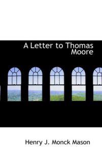 A Letter to Thomas Moore