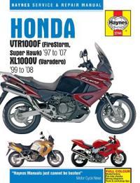 Haynes Honda Vtr1000f Firestorm, Super Hawk '97 to '07 Kl1000v Varadero '99 To'08 Repair Manual
