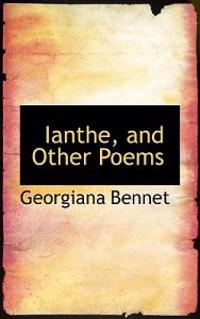 Ianthe, and Other Poems