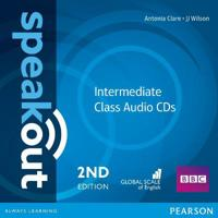 Speakout Intermediate 2nd Edition Class CDs (2)