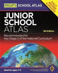 Philips junior school atlas - 9th edition
