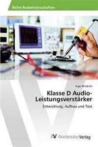 Klasse D Audio-Leistungsverstarker