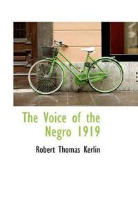 The Voice of the Negro 1919