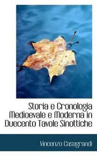Storia E Cronologia Medioevale E Moderna in Duecento Tavole Sinottiche