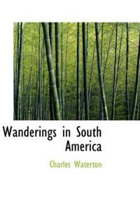 Wanderings in South America