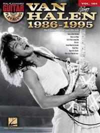Van Halen 1986-1995: Guitar Play-Along Volume 164 [With CD (Audio)]