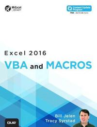 Excel VBA and Macros 2016