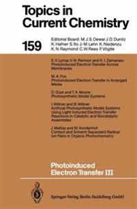 Photoinduced Electron Transfer III