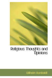 Religious Thoughts and Opinions