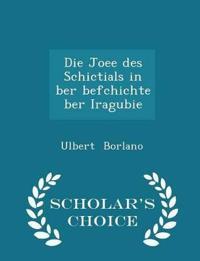 Die Joee Des Schictials in Ber Befchichte Ber Iragubie - Scholar's Choice Edition