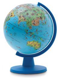 Jordglob Mini för barn, Safari 16cm - Jordglob 16cm