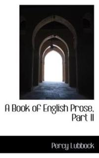 A Book of English Prose