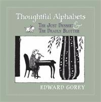 Thoughtful Alphabets - the Just Dessert & the Deadly Blotter A213