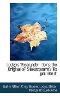 Lodge's 'Rosalynde'
